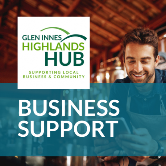 <b>Highlands Hub - Business</b><div><b>Now LIVE!&nbsp;</b></div>--